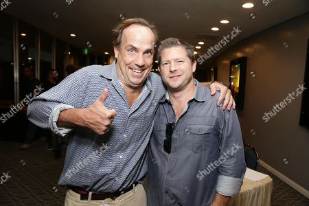"John Farley and Producer Corey Campodonico seen at Shadow Machine's ""Hell and Back"" Special Screening, in Los Angeles, CA"