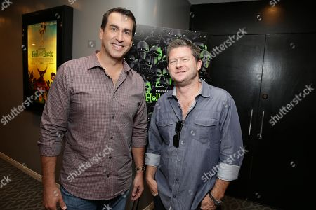"Rob Riggle and Producer Corey Campodonico seen at Shadow Machine's ""Hell and Back"" Special Screening, in Los Angeles, CA"