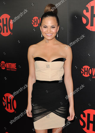 Stock Picture of Chrissy Tiegan attends the Showtime Emmy Eve Soiree at the Sunset Tower Hotel, in Los Angeles