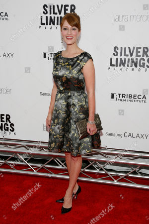 "Stock Picture of Actress Brea Bee attends the premiere of ""Silver Linings Playbook"", to benefit the Tribeca Film Institute's Tribeca Teaches Educational Programs, at the Ziegfeld Theatre on in New York"