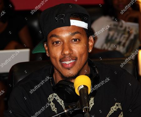 Radio personality and actor Wesley Jonathan live on air at The Staci Harris Show at LA Talk Live, in Los Angeles, California