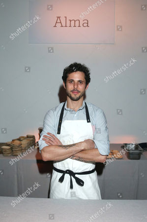 Chef Ari Taymor of Alma is seen at the Third annual Baby2Baby Gala honoring Kate Hudson at The Book Bindery, in Culver City, Calif