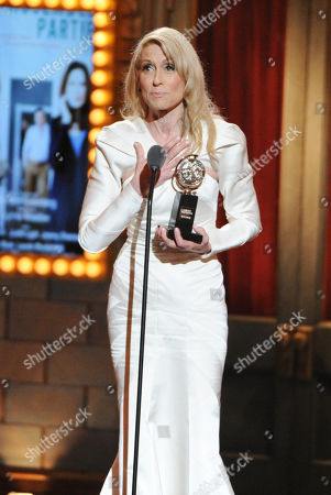 "Stock Image of Actress Judith Light accepting the award for Best Performance by an actress in a featured role in a play for her role in ""The Assembled Parties,"" at the 67th Annual Tony Awards in New York. Six alumni from Carnegie Mellon University took home Tonys in five categories, a glittery haul that was both a school record and a huge source of pride for a theater department that turns 100 next year. Billy Porter, Patina Miller and Judith Light each took home acting Tonys, while Ann Roth got one for best costume design, and partners Jules Fisher and Peggy Eisenhauer won for best lighting design of a play"