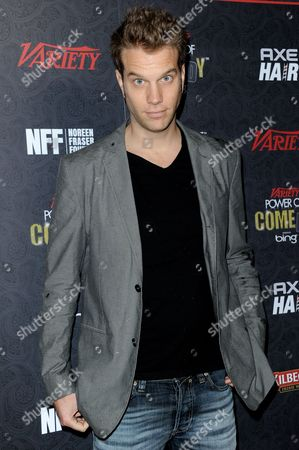 Stock Image of Anthony Jeselnik arrives at Variety Power of Comedy at Avalon Hollywood, in Los Angeles