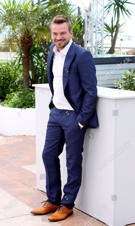 Actor Guillermo Pfening poses for photographers during a photo call for the film Wacolda at the 66th international film festival, in Cannes, southern France