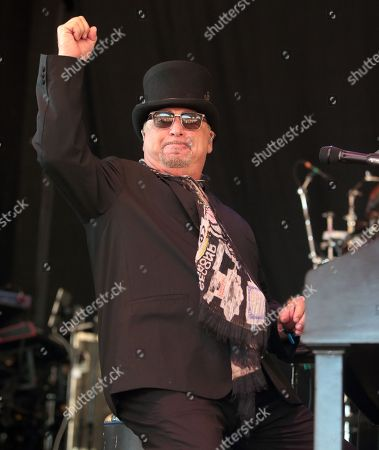 David Paich of the band Toto performs in concert at Pier Six Pavilion, in Baltimore