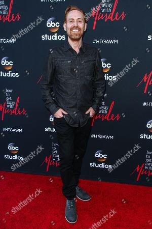 """Stock Photo of Photek attends the """"How To Get Away With Murder"""" ATAS Event at Sunset-Gower Studios, in Los Angeles"""