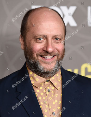"""Dave Finkel, writer/executive producer of """"The New Girl,"""" poses at a party celebrating the 100th episode of the television series at the W Hotel Westwood, in Los Angeles"""
