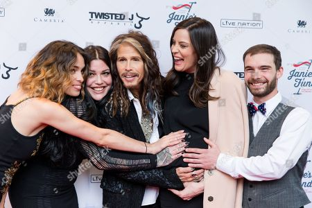 "Editorial photo of ""Steven Tyler OUT ON A LIMB"" - Arrivals, New York, USA - 2 May 2016"
