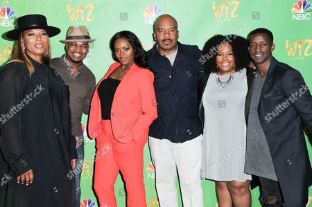"Editorial picture of ""The Wiz Live!"" Photo Op, Los Angeles, USA - 1 Jun 2016"