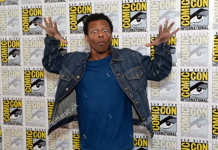 """Phil Lamarr attends the FOX """"Murder Police"""" press room on Day 2 of Comic-Con International on in San Diego, Calif"""
