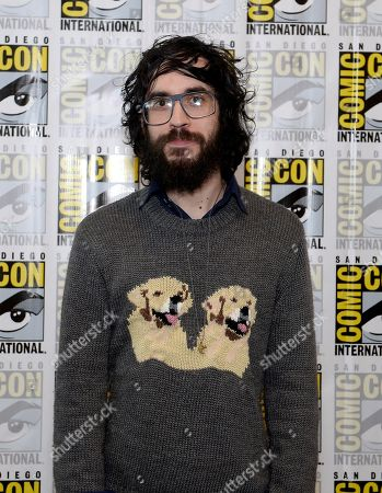 "Creator Jason Ruiz attends the FOX ""Murder Police"" press room on Day 2 of Comic-Con International on in San Diego, Calif"
