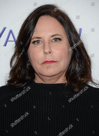 """Pretty Little Liars"""" creator I. Marlene King arrives at the 2015 PaleyFest New York """"Pretty Little Liars"""" panel discussion at The Paley Center for Media, in New York"""