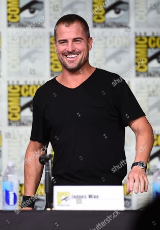 """George Eads attends the """"MacGyver"""" panel on day 1 of Comic-Con International, in San Diego"""