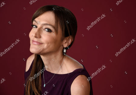 """Stock Picture of Nancy M. Pimental, executive producer of the Showtime series """"Shameless,"""" poses for a portrait during the 2016 Television Critics Association Summer Press Tour at the Beverly Hilton, in Beverly Hills, Calif"""