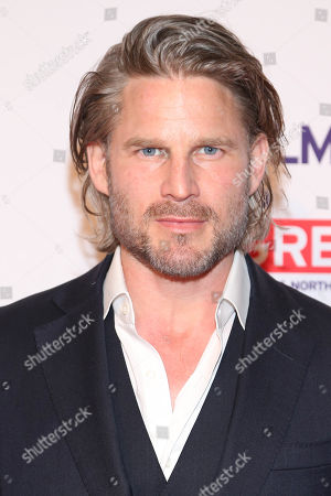 Noah Huntley arrives at the 2016 The Film is GREAT Reception at Fig & Olive, in West Hollywood, Calif