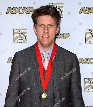 Producer and songwriter Greg Kurstin arrives at the 30th Annual ASCAP Pop Music Awards,, at Loews Hollywood Hotel in Hollywood, California