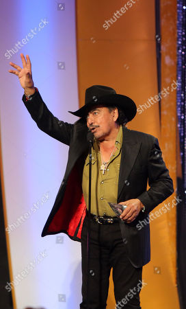 Joan Sebastian onstage during the 3rd Annual Billboard Mexican Awards at The Dolby Theatre on in Los Angeles