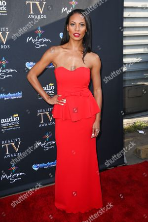 Candace Smith arrives at the 3rd Annual Reality TV Awards at the Avalon Hollywood, in Los Angeles