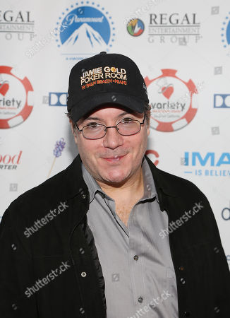 Poker champion Jamie Gold attends the 3rd Annual Variety Charity Texas Hold 'Em Tournament & Casino Game at Paramount Studios on in Hollywood, California