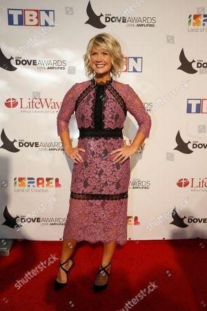 Natalie Grant at the 47th Annual GMA Dove Awards at Lipscomb University's Allen Arena, Nashville, Tenn