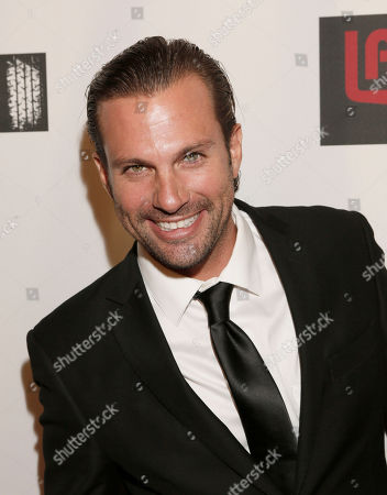 Paulo Benedeti attends the 8th Annual HollyShorts Film Festival opening night celebration at Grauman's Chinese Theatre, in Los Angeles, CA