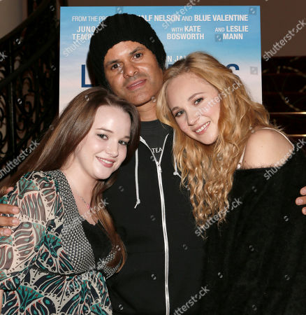 """Kay Panabaker, Director Elgin James and Juno Temple attend a screening of """"Little Birds"""" presented by Ben Lyons and Hello Giggles at the Grove on in Los Angeles"""