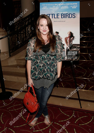 """Kay Panabaker attends a screening of """"Little Birds"""" presented by Ben Lyons and Hello Giggles at the Grove on in Los Angeles"""