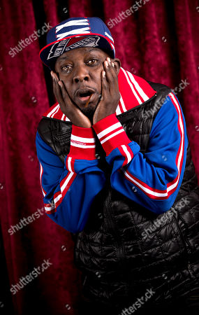 """Phife Dawg (Malik Isaac Taylor) of the hip-hop group A Tribe Called Quest poses for a photo at SiriusXM studios in New York. A Tribe Called Quest celebrated the 25th anniversary of its debut album, """"People's Instinctive Travels and the Paths of Rhythm,"""" in November by re-releasing the album with remixes helmed by Pharrell, CeeLo Green and J. Cole"""