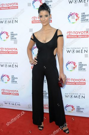 """Jessica Clark attends """"An Evening with Women"""" held at the Hollywood Palladium, in Los Angeles"""