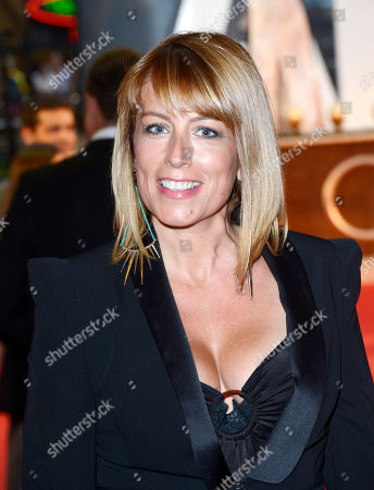 Stock Image of Faye Ripley poses at Anna Karenina World Premiere at Odeon West End on in London
