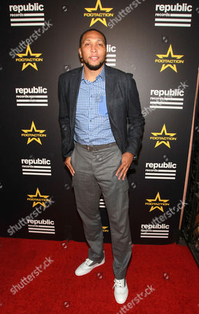 Stock Image of Shawn Marion attends the Republic Records' official GRAMMYs After-Party, sponsored by national footwear and apparel retailer Footaction, at Hyde Sunset Kitchen on in Los Angeles. When it comes to the biggest stars in music and entertainment, style never stops, and Footaction got an exclusive look at how celebs owned their after-party style