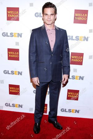 Greg Rikaart attends the GLSEN Respect awards at the Beverly Hills Hotel, in Beverly Hills, Calif