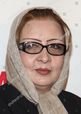 Honoree Najiba Ayubi arrives at the International Womenâ?™s Media Foundationâ?™s 2013 Courage in Journalism Awards at The Beverly Hills Hotel on in Beverly Hills, Calif