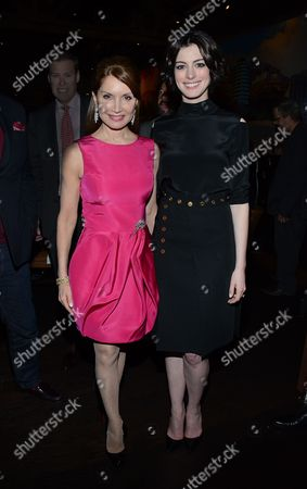 "Editorial photo of Jean Shafiroff hosts private LA screening and dinner for ""Song One"" with director Kate Barker-Froyland and Anne Hathaway, Beverly Hills, USA - 22 Jan 2015"