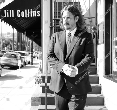 Stock Photo of John Paul White poses for a portrait before playing a Friday night show at The Troubadour in West Hollywood, Calif