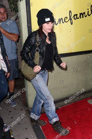 "Stock Photo of Fairuza Balk attends the LA Premiere of ""Antibirth"" held at Cinefamily, in Los Angeles"