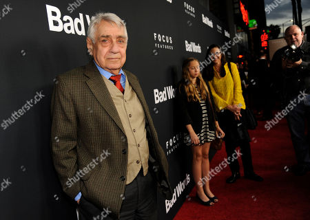 "Philip Baker Hall, a cast member in ""Bad Words,"" poses at the premiere of the film on in Los Angeles"