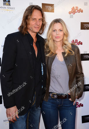 """Abri van Straten, left, and Kristin Bauer van Straten arrive at the Los Angeles premiere of """"La Bare"""" at the ArcLight Hollywood on"""