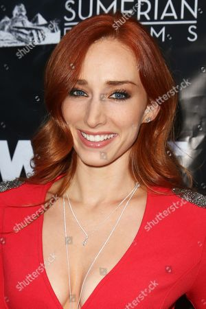 """Stock Picture of Najarra Townsend arrives at the LA Premiere of """"What Now"""" at Laemmle Music Hall, in Beverly Hills, Calif"""