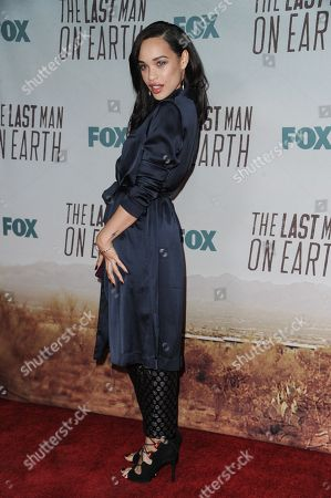 """Cleo Coleman arrives at the LA Premiere Screening Of """"The Last Man On Earth"""", in Los Angeles"""