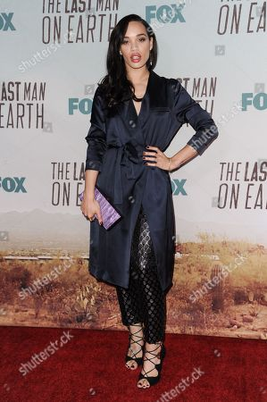 """Stock Image of Cleo Coleman arrives at the LA Premiere Screening Of """"The Last Man On Earth"""", in Los Angeles"""