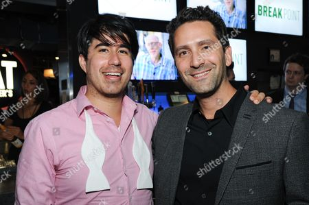 "Founder/Chief Creative Officer: Broad Green Pictures Daniel Hammond, left, and director Jay Karas attend the after party for the LA Special Screening of ""Break Point"" held at the TCL Chinese 6 Theatres, in Los Angeles"