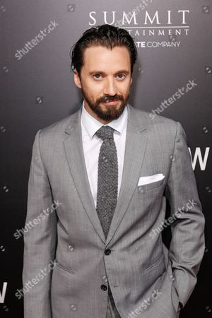 """Stock Image of Richard Pyros arrives at the LA Special Screening of """"Hacksaw Ridge"""" at the Samuel Goldwyn Theater, in Beverly Hills, Calif"""