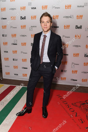 """James Allen McCune seen at Lionsgate's """"Blair Witch"""" Midnight Madness Premiere at the 2016 Toronto International Film Festival, in Toronto"""