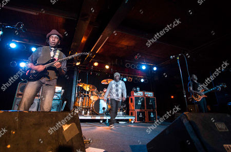 Vernon Reid, Corey Glover, Will Calhoun and Doug Wimbish with Living Colour performs during the Synesthesia Tour at the Masquerade, in Atlanta