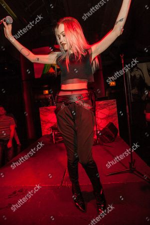 Ivy Levan performs during the Lollapalooza After-Show at Rockit Bar & Grill, in Chicago
