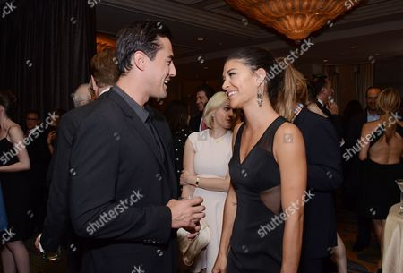 Scotty McKnight and Jessica Szohr attend the Los Angeles Ballet Gala at the Beverly Wilshire Hotel, in Beverly Hills, California