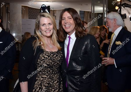 Nancy Davis and Steven Cojocaru attend the Los Angeles Ballet Gala at the Beverly Wilshire Hotel, in Beverly Hills, Calif