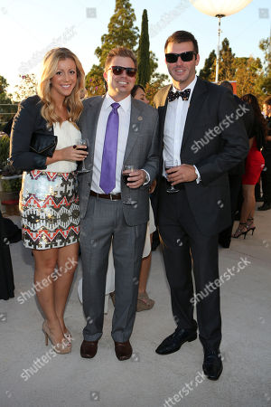 Stock Photo of From left, Kerri Waldo, Tim Reid and Joe Maioriello pose during the 2013 March of Dimes Signature Chefs Auction held at The Westin South Coast Plaza on in Costa Mesa, Calif